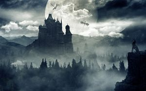 Gothic Matte Painting