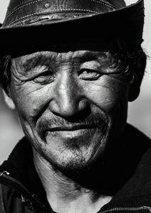 Old man Black & White Portrait