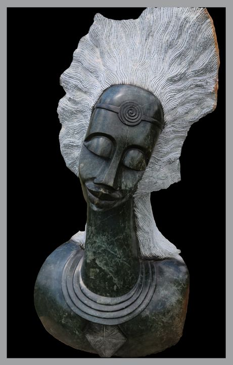Female Portrait Sculpture - Beaufordwest