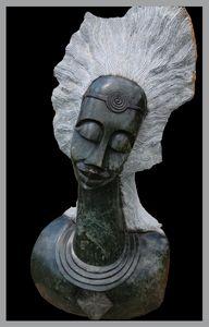 Female Portrait Sculpture