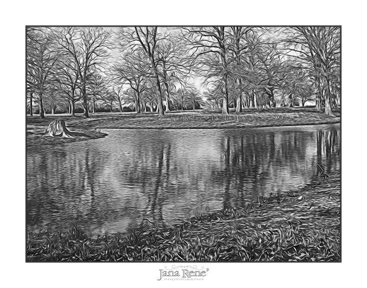 Paradise Pond - Jana Rene' Photography