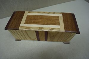 Remote Wood box
