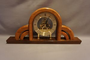 Cherry Mantel Clock