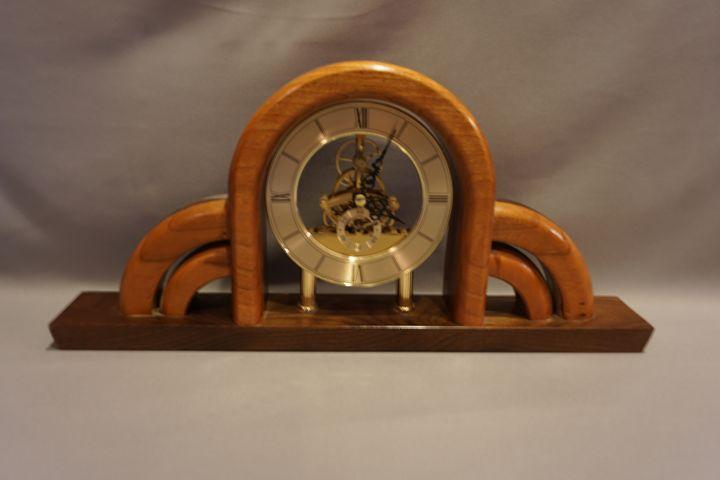 Cherry Mantel Clock - WS Woodmasters