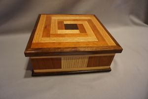 Inlaid Square Box