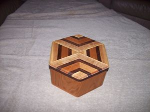 6-Sided Wood Box
