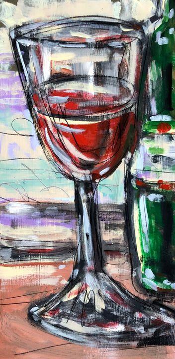 Big Red - Lynn Jacques Fine Art
