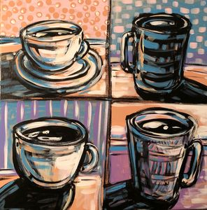 Coffee Shop - 4 Cups