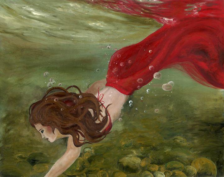 Dive - Andrea Forbush Artwork