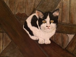 Old Barn Cat - Aldea Simon