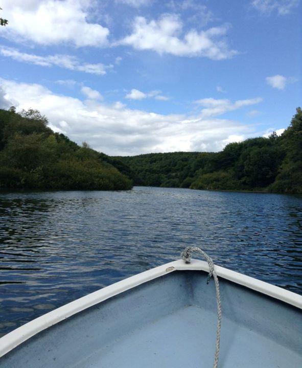 Boat on a Lake - Dan Jones Photography