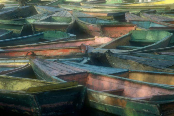 Pastel Boats - Stad Merick