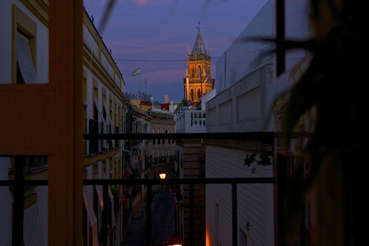 Iglesia de Santa Ana at Sunset - Matt MacMurchy