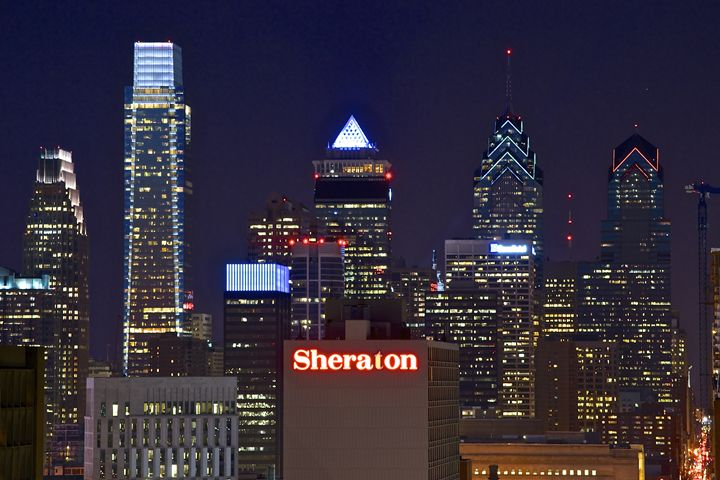 Philadelphia Skyline at Night - Matt MacMurchy
