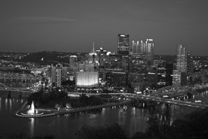 Pittsburgh (black & white)