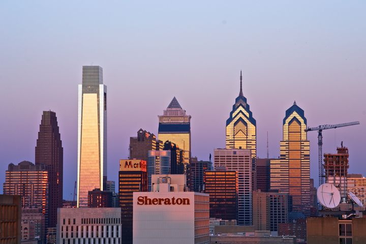 Philadelphia Skyline at Sunset - Matt MacMurchy