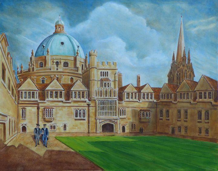OXFORD ,THE MAGIC KINGDOM - GORDONSTUDIOART