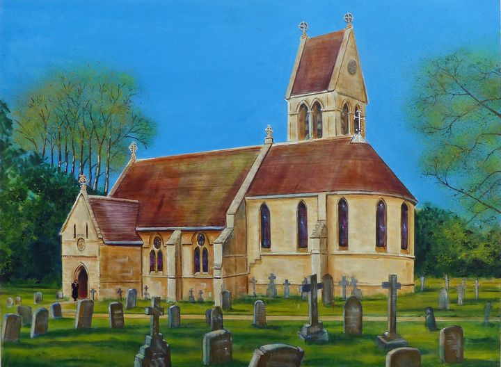 The Church of St  Mary The Virgin , - GORDONSTUDIOART