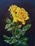 A BEAUTIFUL YELLOW ROSE DELIGHTFULL