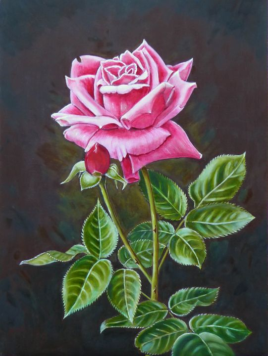 MY ENGLISH ROSE - GORDONSTUDIOART