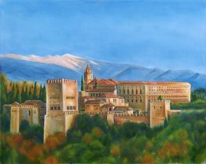 THE ALHAMBRA PALACE - GORDONS STUDIO ART