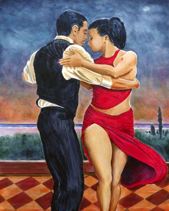 DANCING QUEEN - GORDONSTUDIOART