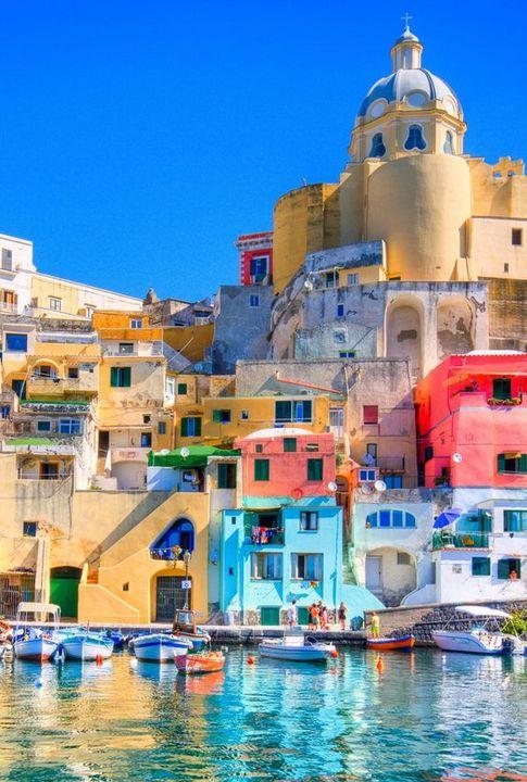 Procida Island, Naples - Concrete Roses ArtPad