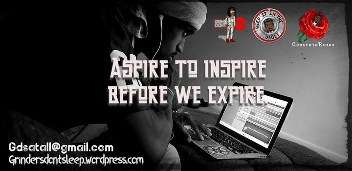 ASPIRE TO INSPIRE - Concrete Roses ArtPad