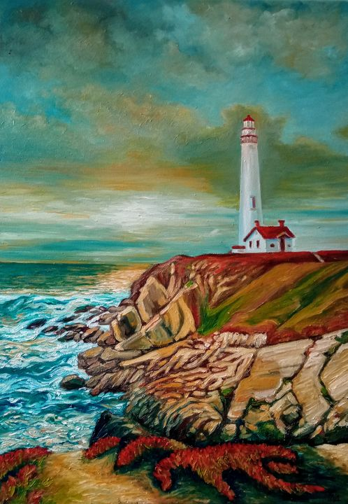 Pigeon Point Lighthouse - Ina
