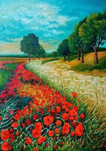 Red poppy - Ina