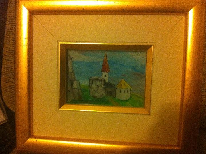 Castle - Naive art