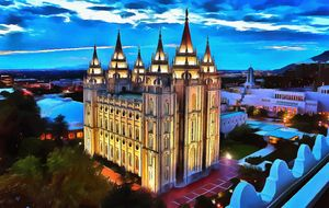 Architecture Mormon Church