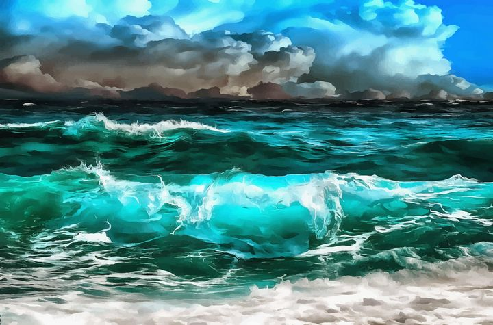 Wave - Beautiful nature Ivanstyle