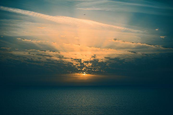 Dark sunset - YDP