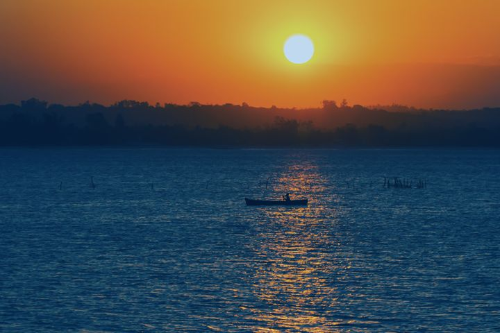 African sunset - YDP