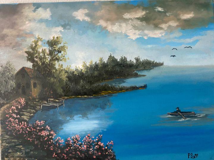 Safe Harbor - Popp's oil paintings