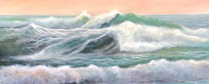 Ocean Splendor 2 - Linda Roman Fine Art