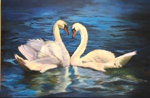 Swan Couple Two