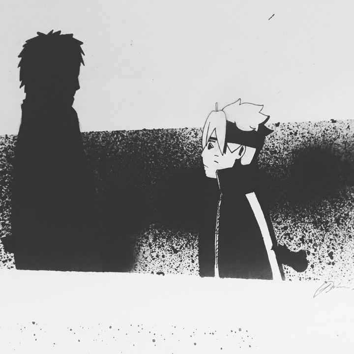 Naruto And Boruto - Joshua C Ryan Art