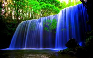 Waterfall Trees