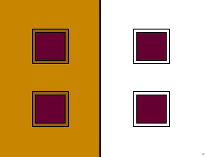 Square Windows Tuscan Walls - Geraldine Cote