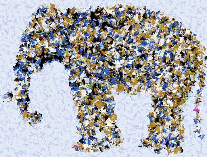Cubic Elephant - Graphic Eleven
