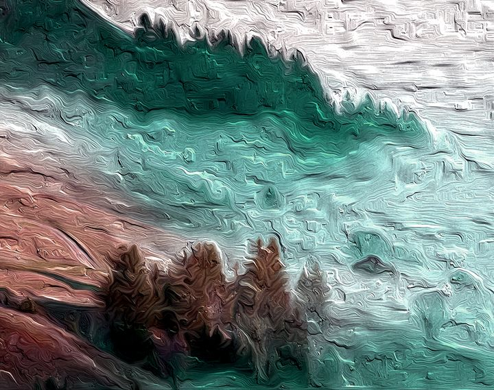 Abstract Landscape - 65 - Graphic Eleven