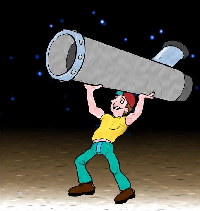 Ammature Astronomer - Graphic Eleven