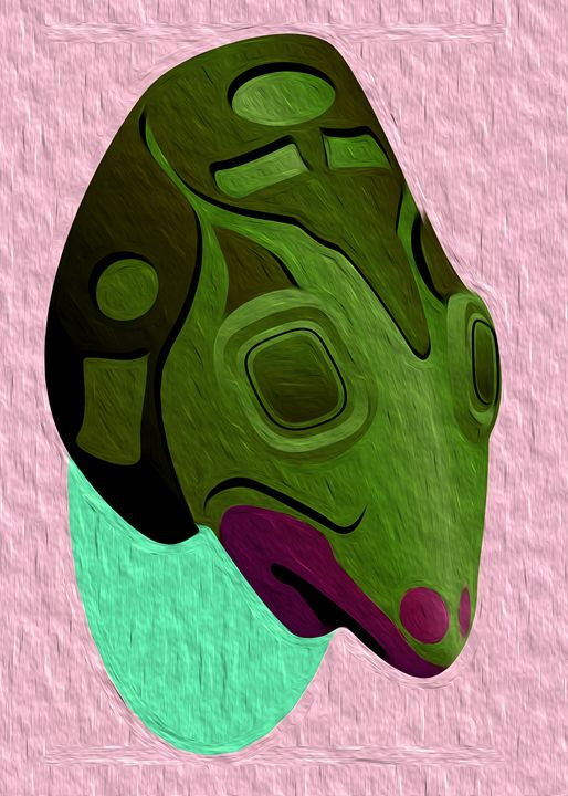 African Mask - 1 - Graphic Eleven