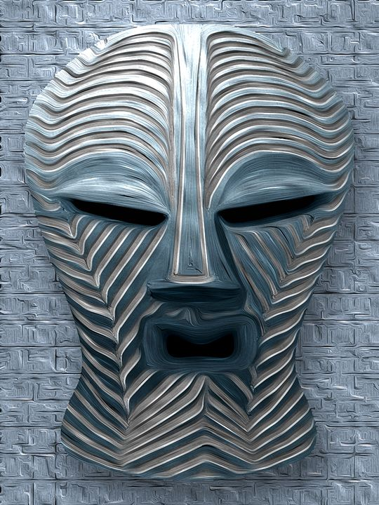 African Tribal Mask - 12 - Graphic Eleven