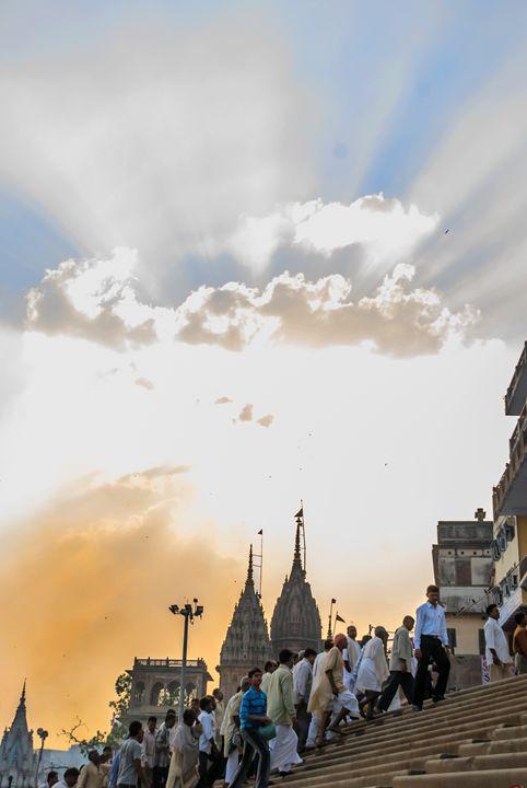 Varanasi Ghat - Graphic Eleven