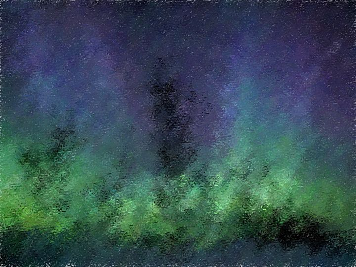 Abstract Ladscape - Pastel Painting - Graphic Eleven