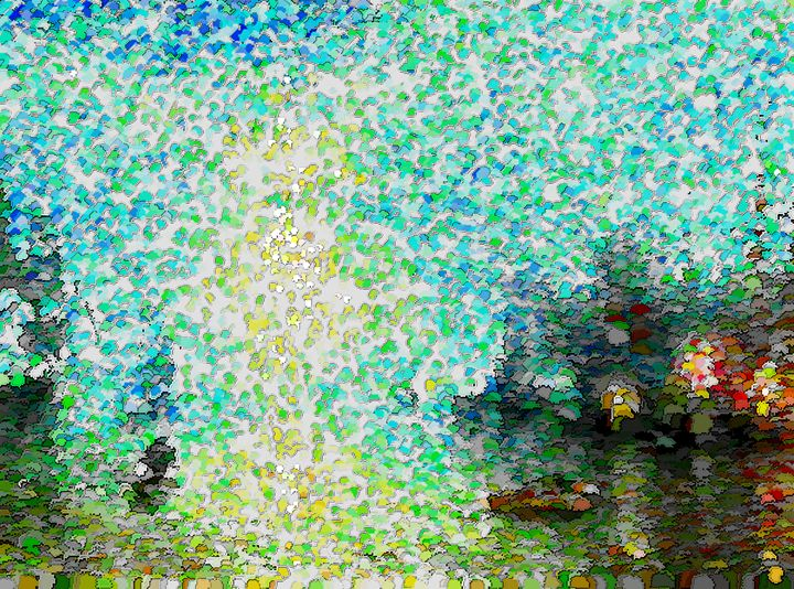 Impressionist Abstract Landscape - Graphic Eleven