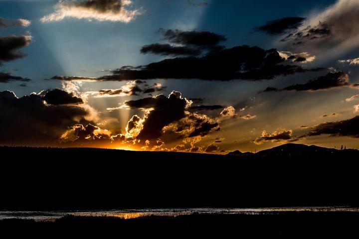 Sunset at Yellowstone - Studio 5